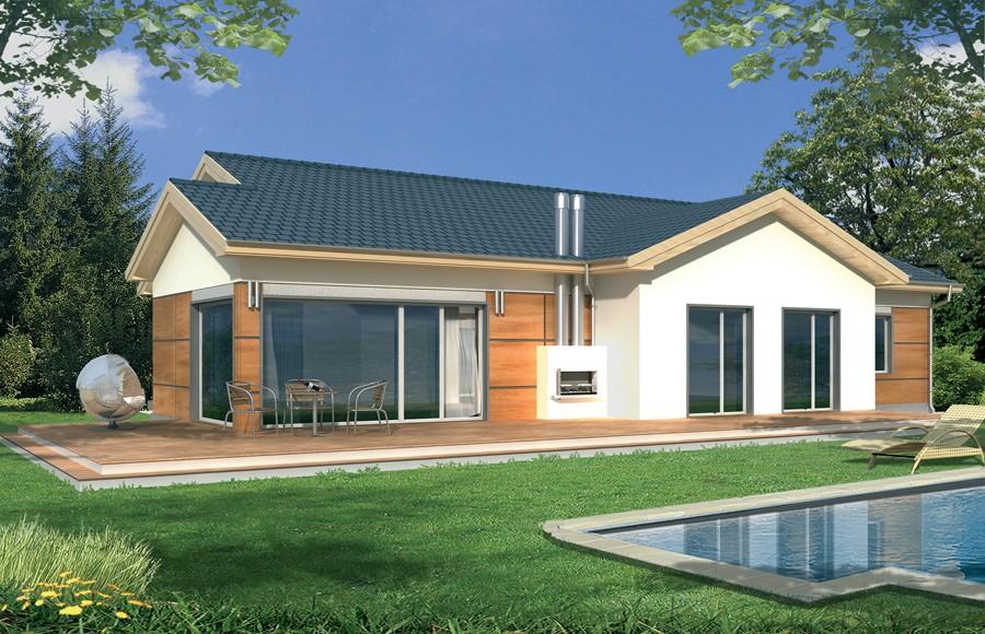 Zdjęcie dla projektu : AGATKA wersja B dach 32 stopnie