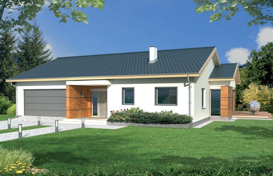 Zdjęcie dla projektu : AGATKA wersja A dach 22 stopnie