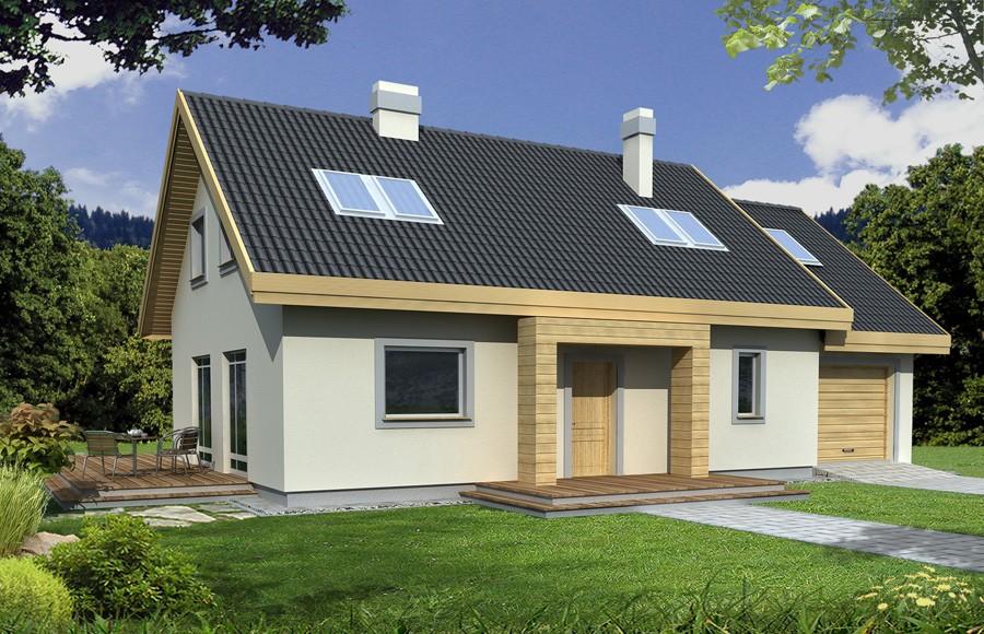 Zdjęcie dla projektu : ADAŚ II wersja A bez garażu