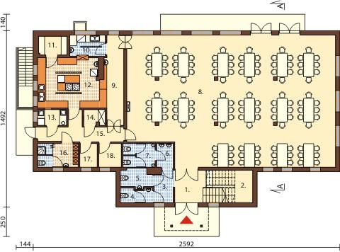 Eurodom Biuro Projektowe I Wykonawstwo Dom Weselny Restauracja
